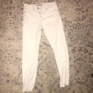 White Skinny Jeans (Express)